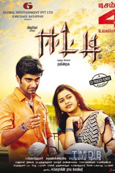 Atharva, Sri Divya in Eetti Movie Release Posters
